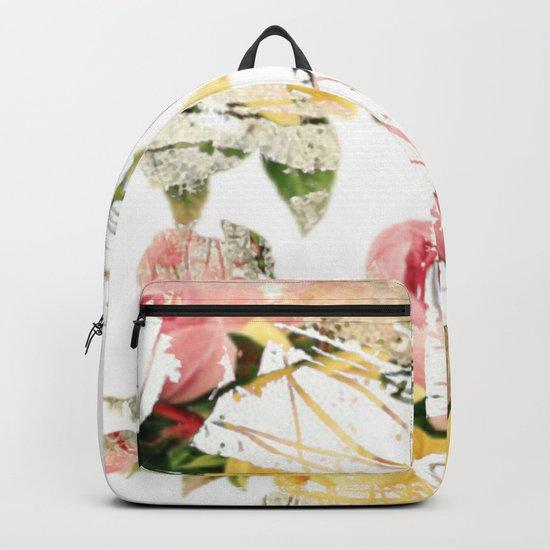 Frozen roses Backpack