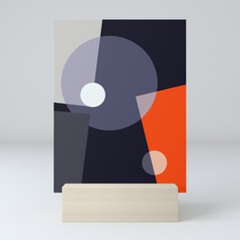 Geometric Abstract Art #2 Mini Art Print