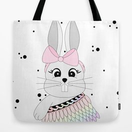 Miss Rapeti (rainbow) Tote Bag