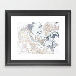 Milk and Honey Framed Art Print