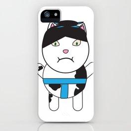 Sumo Kitty iPhone Case