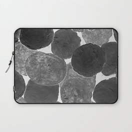 Abstract Gray Laptop Sleeve