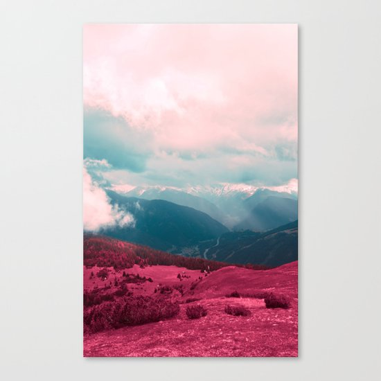 Leave Behind Canvas Print