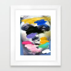 Composition 498 Framed Art Print