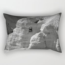 Qumran Caves in Israel Rectangular Pillow