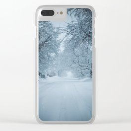 S. Perrine Clear iPhone Case