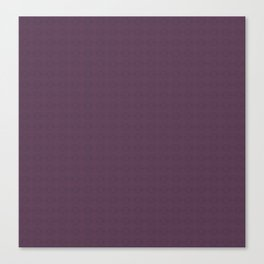 Organic Purple Canvas Print