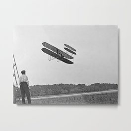 Wright Brothers Metal Print