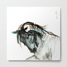 Horse (Andalusian II) Metal Print