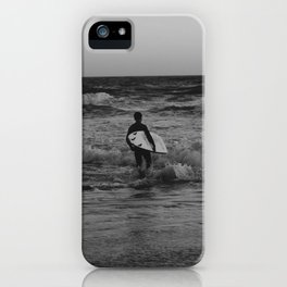 Let's go surfing iPhone Case