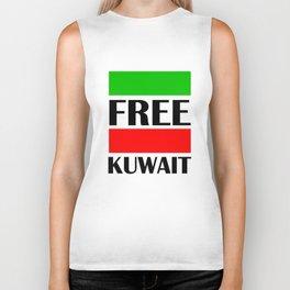 Kuwait Freedom Biker Tank