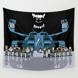 USS Sulaco Crew  Wall Tapestry