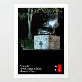 MUBE - Brazilian Sculpture Museum Art Print