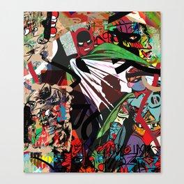 Crime City Canvas Print