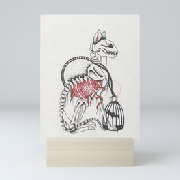 Satisfaction Brought Him Back Mini Art Print