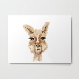 Whole lotta llama Metal Print
