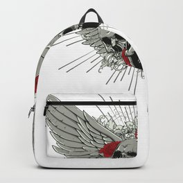 Skulls and Wings Backpack
