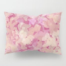 Peach Pie Floral Pillow Sham