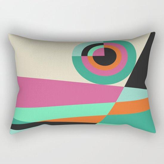 Geometric#30 Rectangular Pillow