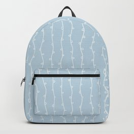 Willow Stripes - Ice Blue Backpack