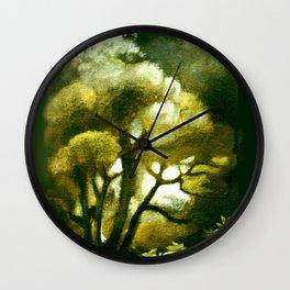 Spirit of the Tarairi Tree Wall Clock