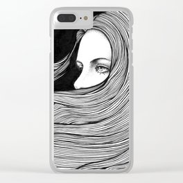 HYPNOTIZED Clear iPhone Case