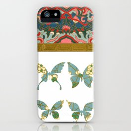 Ornamental Butterfly iPhone Case