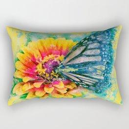 Monarch Butterfly, Painted Butterfly, Butterflies, Unique Art, Best Butterfly, Cool Animal Rectangular Pillow
