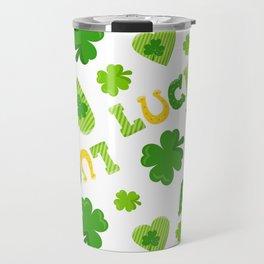 St. Patrick's Day EXTRA IRISH LUCK! Travel Mug