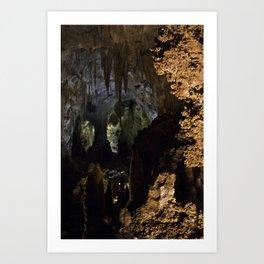 Carlsbad Caverns X Art Print