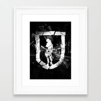 tomb raider Framed Art Prints featuring Tomb Raider II. by 187designz