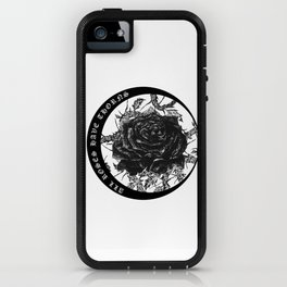 All Roses Have Thorns - illustration by Maxime Potvin iPhone Case