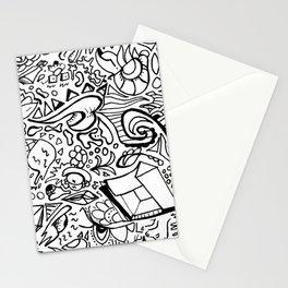 Phat leaf doodle Stationery Cards