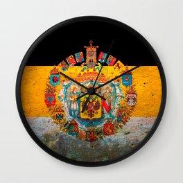 Russian Empire Flag Wall Clock