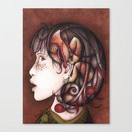 Inside voice Canvas Print