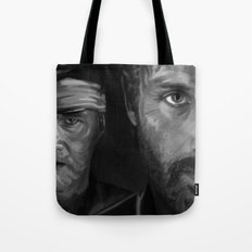 Rick and The Governor Tote Bag