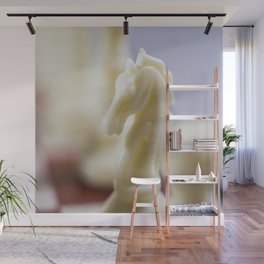 White Knight Wall Mural