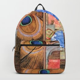 Annunciation - Master of Mary of Burgundy Backpack