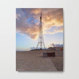 Pylon of Messina Metal Print