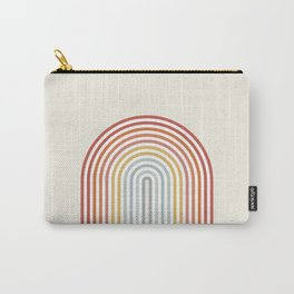 Minimalist colorful rainbow lines  Carry-All Pouch
