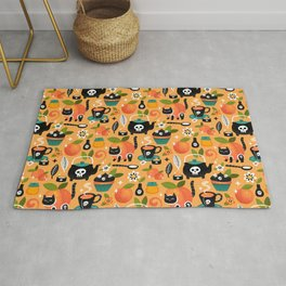 Peachy Tea Time Rug