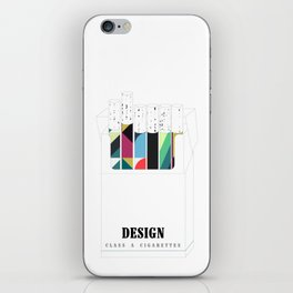 Design, it'll slowly kill you iPhone Skin