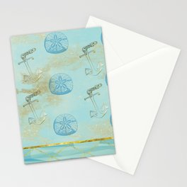 Beach Design Stationery Cards