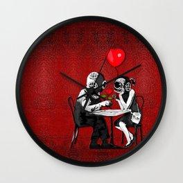 Dating on valentine's night Wall Clock