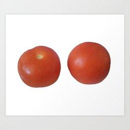 Tomato Duo Art Print