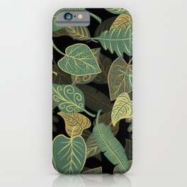 Leafes Pattern iPhone Case