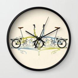 Brompton Bicycle cycling Wall Clock