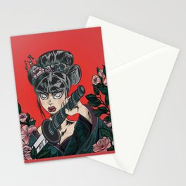 Onna-bugeisha Stationery Cards