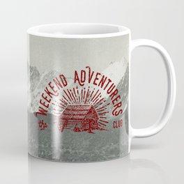 Weekend Adventurers Club Coffee Mug