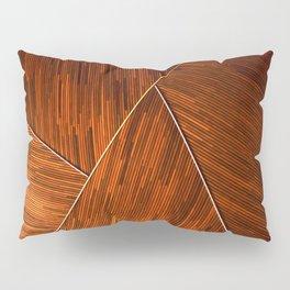 Geometric Grain Pillow Sham